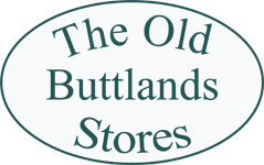 The Old Buttlands Stores sign